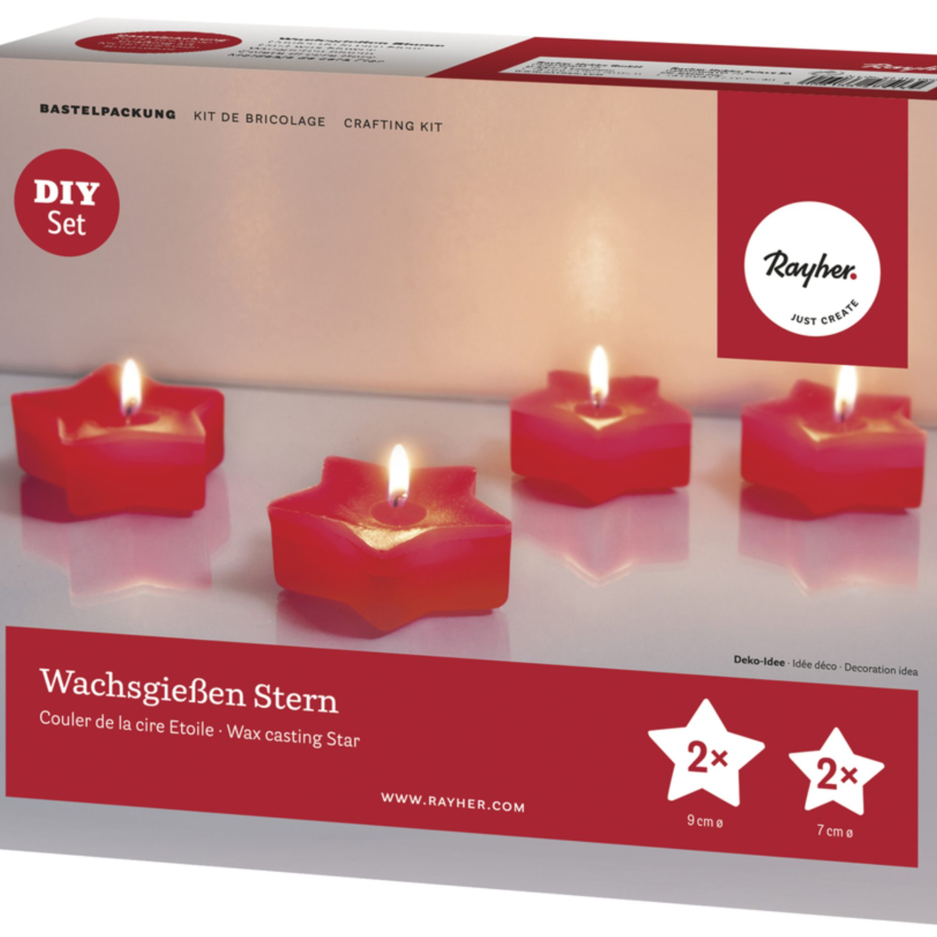 Wachsgießen Kerzen